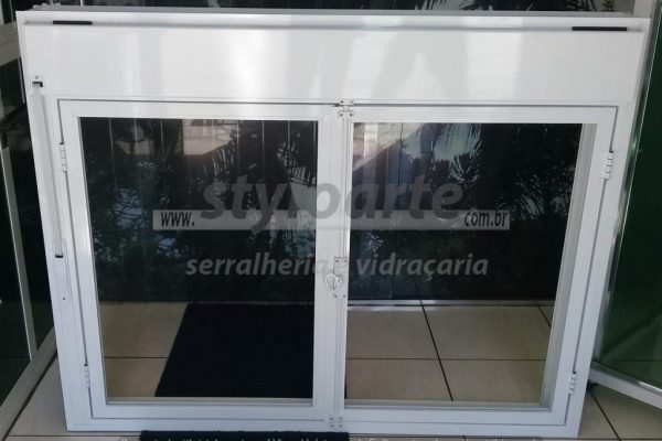 Janela Alumínio Persiana Integrada - Serralheria Itaquera