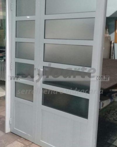 Porta de Alumínio - Zona Leste - Itaquera