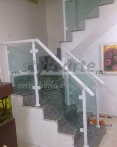 Corrimão de Alumínio e vidro em Itaquera - Zona Leste