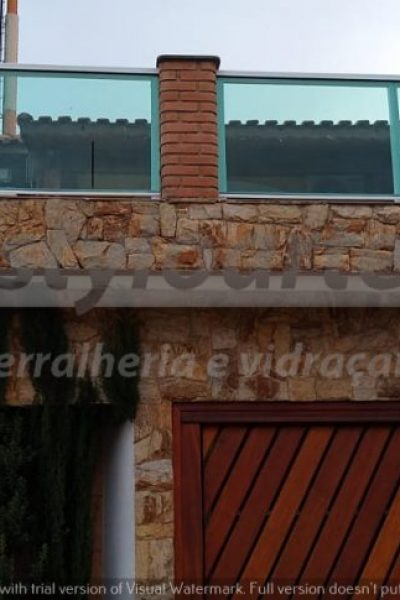 Guarda Corpo de Vidro Itaquera