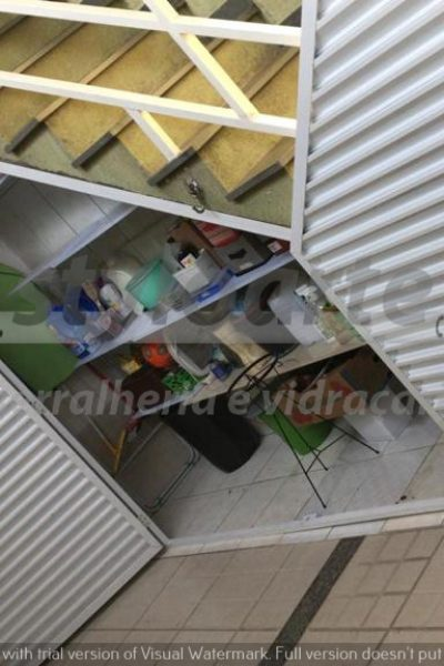 Fechamento de escada em Alumínio - Itaquera
