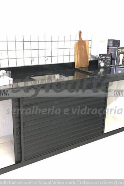 Fechamento de pia em Alumínio - Itaquera
