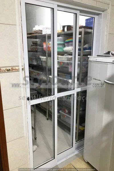 Porta de Vidro e Alumínio - Itaquera